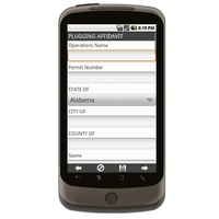 Android: Plugging Affidavit (Wells) Mobile App (Example 1)