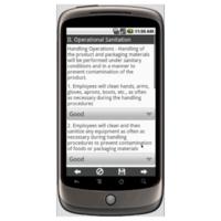 Food safety sanitation standard operating procedures checklist mobile