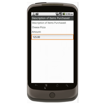 Android (1.5+): Petty Cash Voucher Mobile App (Example 2)
