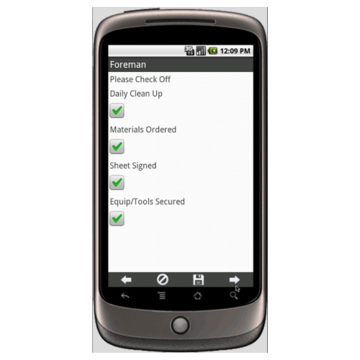 Electrical Contractors Job and Billing Information Form Mobile App ...
