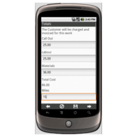 Android: Field Service Report Mobile App (Example 3)