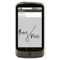 Android (1.5+): Multipurpose Sales Order - Deluxe 55T Mobile App (Example 4)