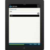 iPhone or iPad (iOS): Blank Check List Mobile App (Example 3)