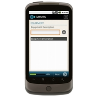 Android:  Electrical Equipment OHS Register (Australia) Mobile App (Example 2)
