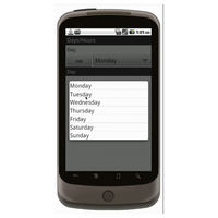 Android (1.5+): Bi-Weekly Timesheet  Mobile App (Example 2)