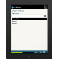 iPhone or iPad (iOS): Biochemical Oxygen Demand (Washington) - National Rural Water Association Mobile App (Example 4)