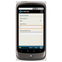 Android: General Quotation Form Mobile App (Example 2)
