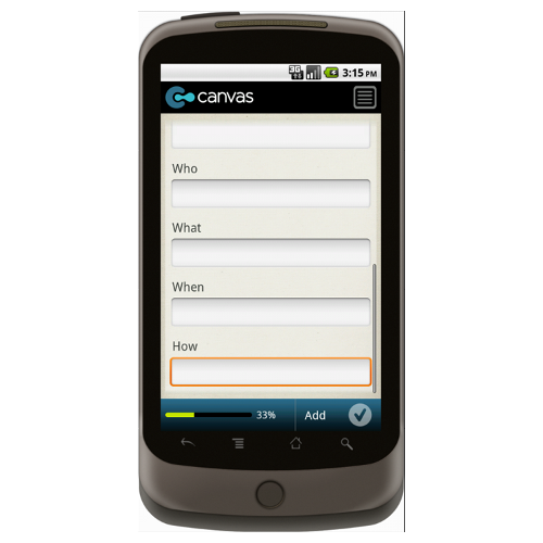 Android: HACCP Plan Development Form Monitoring Procedures and Frequency Mobile App (Example 2)