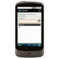 Android: HACCP Plan Development Form Monitoring Procedures and Frequency Mobile App (Example 3)