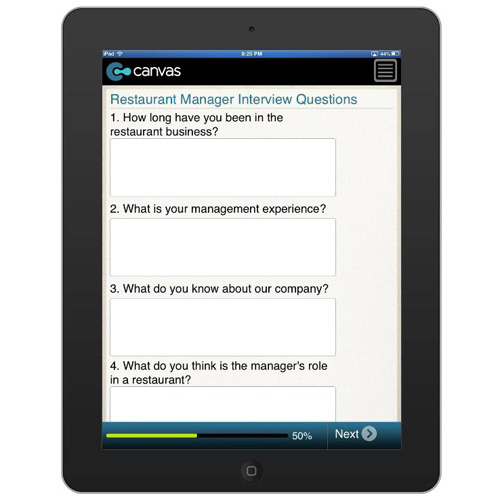 Restaurant Manager Interview Questions BusinessFormTemplatecom