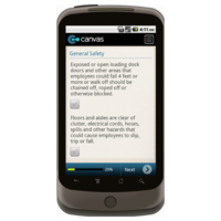 Android: OSHA Warehouse Safety Checklist: General Safety Mobile App (Example 1)