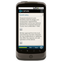 Android: OSHA Warehouse Safety Checklist: General Safety Mobile App (Example 3)