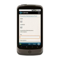 Android: Preventive Maintenance Form Mobile App (Example 1)