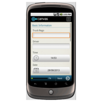 Android: Moving Truck Daily Checklist and Defect Report Mobile App (Example 1)