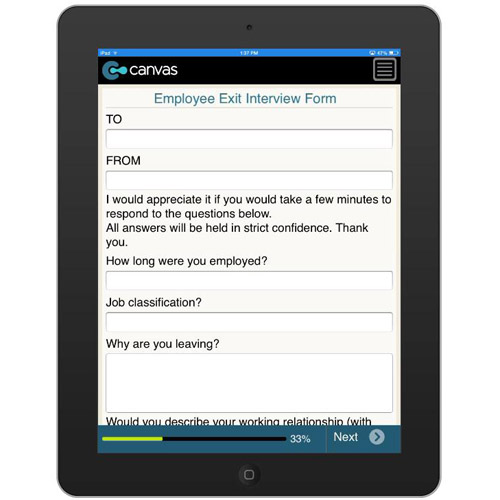 Employee Exit Interview Form Philippines Form Mobile App