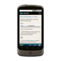 Android: Vehicle Maintenance Checklist Mobile App (Example 3)