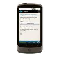Android: Vehicle Maintenance Checklist Mobile App (Example 5)