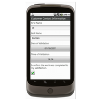 Android (1.5+): Signature Capture Mobile App (Example 1)
