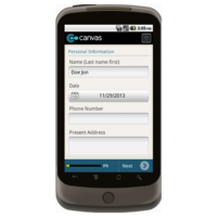 Android: Application for Employment (Long) - TheContractorsGroup.com Mobile App (Example 1)
