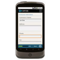 Android: Warranty Statement - TheContractorsGroup.com Mobile App (Example 2)