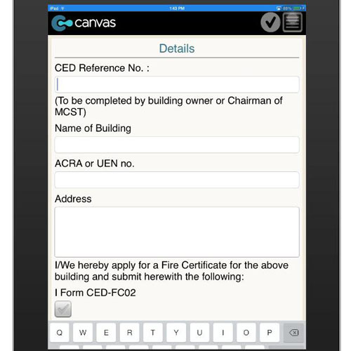 how to get interim certificate on mobile app