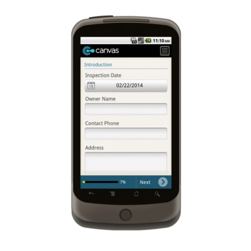 Android: Vehicle Inspection Form Mobile App (Example 1)