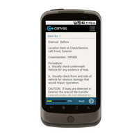 Android: Preventative Maintenance Check for TM 9-2320-280-10 PMCS FOR M998 SERIES VEHICLES Mobile App (Example 1)
