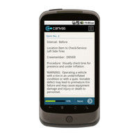 Android: Preventative Maintenance Check for TM 9-2320-280-10 PMCS FOR M998 SERIES VEHICLES Mobile App (Example 2)