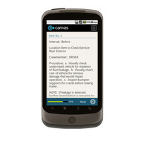 Android: Preventative Maintenance Check for TM 9-2320-280-10 PMCS FOR M998 SERIES VEHICLES Mobile App (Example 3)