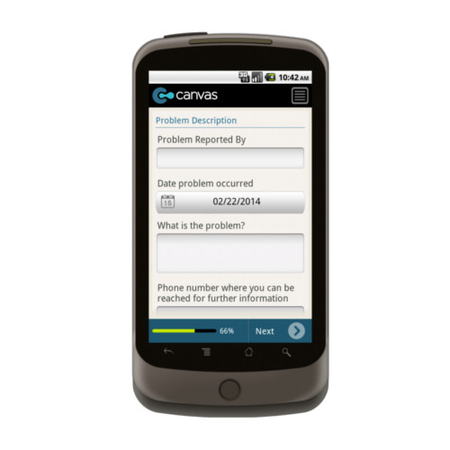 Android: Equipment Maintenance Mobile App (Example 2)