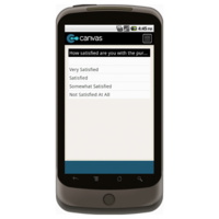 Android: SAMPLE - Customer Satisfaction Survey Mobile App (Example 1)