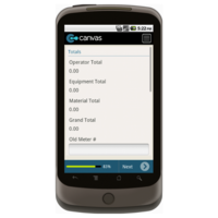 Android: Utility Service Order Mobile App (Example 3)