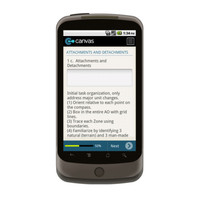 Android: WARNING ORDER Mobile App (Example 3)