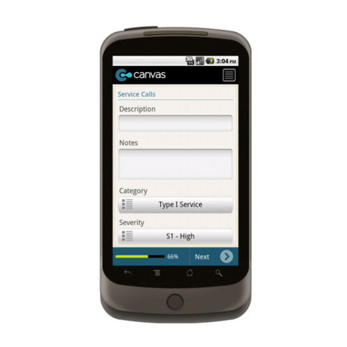 Android: QuickBase Field Ops Mobile App (Example 2)