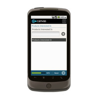 Android: Customer Contact List Mobile App (Example 2)