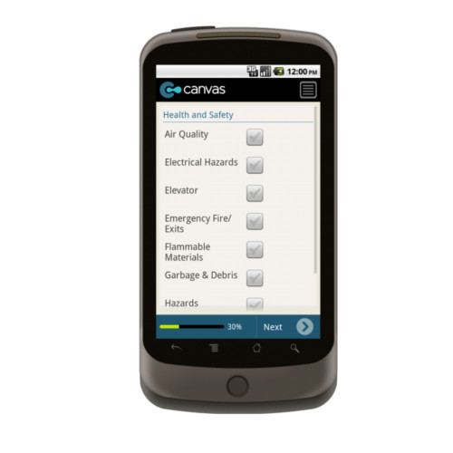 Android: HUD Uniform Physical Condition Standards Checklist Mobile App (Example 3)
