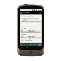 Android: SAMPLE - Service Work Order with Dispatch Mobile App (Example 2)