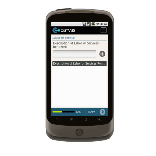 Android: SAMPLE - Service Work Order with Dispatch Mobile App (Example 3)