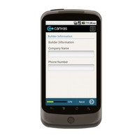 Android: New Construction Subterranean Termite Service Record Mobile App (Example 3)
