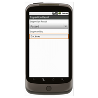 Android (1.5 - pre1.6): Vehicle Inspection Form w/ GPS Data Collection Mobile App (Example 4)