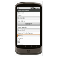 Android (1.5 - pre1.6): Work Order - Deluxe 6544 Mobile App (Example 1)