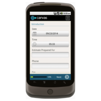Android: Field Service Job Estimator Mobile App (Example 1)