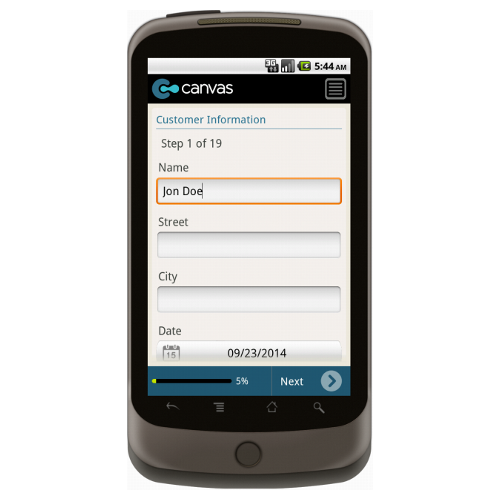 Android: HVAC Service/Work Order with Checklist and Dispatch - Deluxe 6501 Mobile App (Example 1)