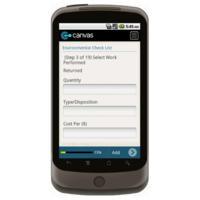 Android: HVAC Service/Work Order with Checklist and Dispatch - Deluxe 6501 Mobile App (Example 2)