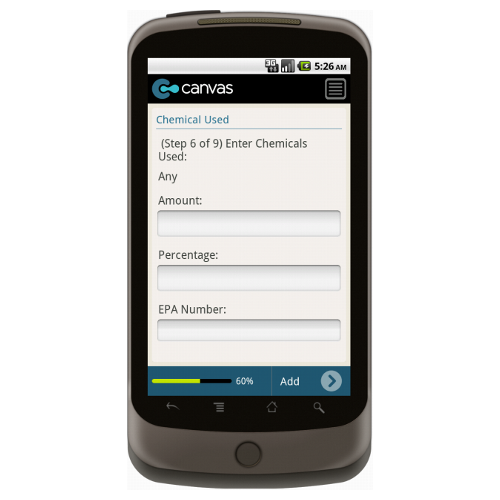 Android: Pest Control Service Order with Dispatch - Deluxe 365 Mobile App (Example 2)