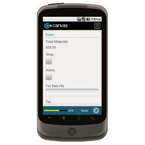 Android: Service Order Form with Dispatch (Generic Very Simple) Mobile App (Example 3)