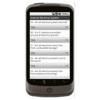 Android (1.5 - pre1.6): Building Inspection Checklist Mobile App (Example 2)