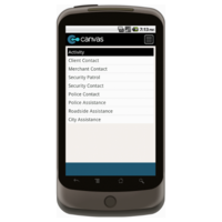 Android: Business Improvement District Daily Activity Log Mobile App (Example 2)