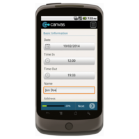 Android: Pest Control Service Invoice - Motorola Solutions Mobile App (Example 1)