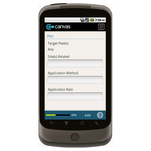 Android: Pest Control Service Invoice - Motorola Solutions Mobile App (Example 2)